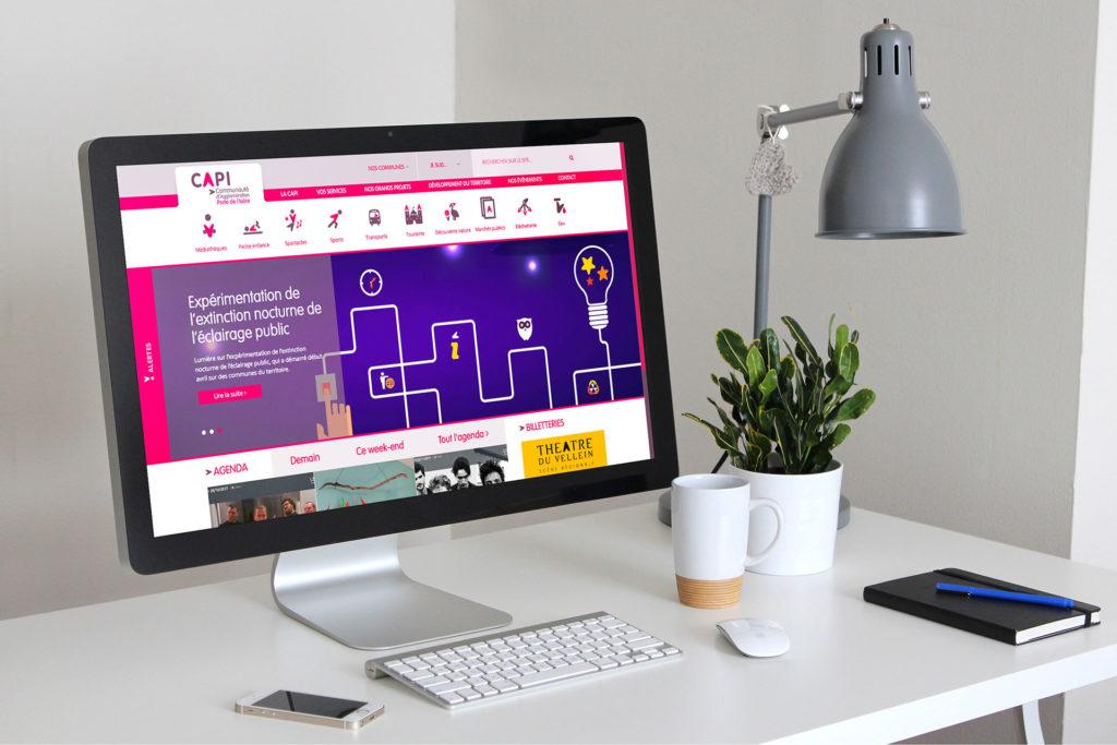 Capi agglomeration site web