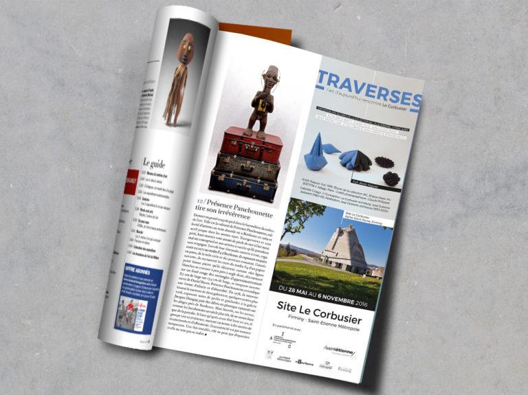 Insert presse beaux arts magazine le corbusier