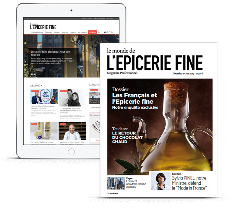 Magazine digital epicerie fine