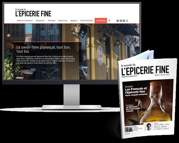 Monde epicerie fine digital