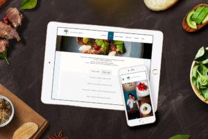 Site internet du restaurant Les Apothicaires