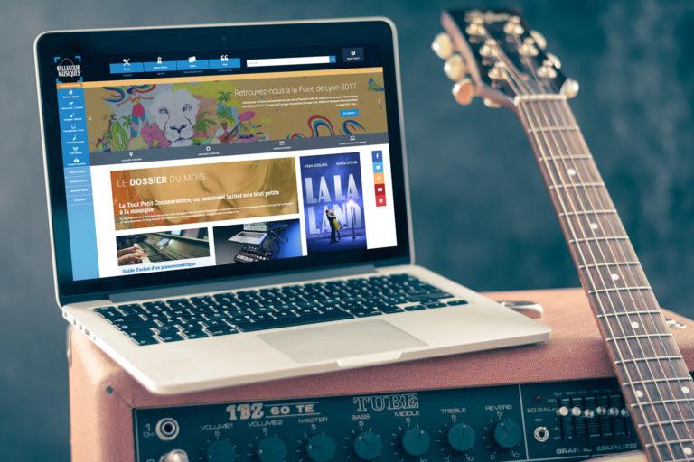 Bellecour Musiques - site e-commerce