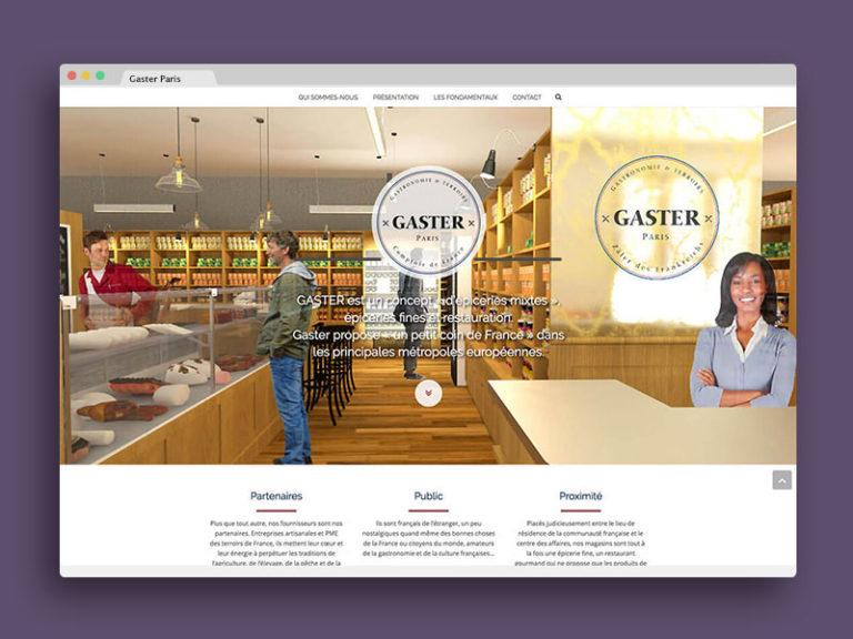 Gaster site web