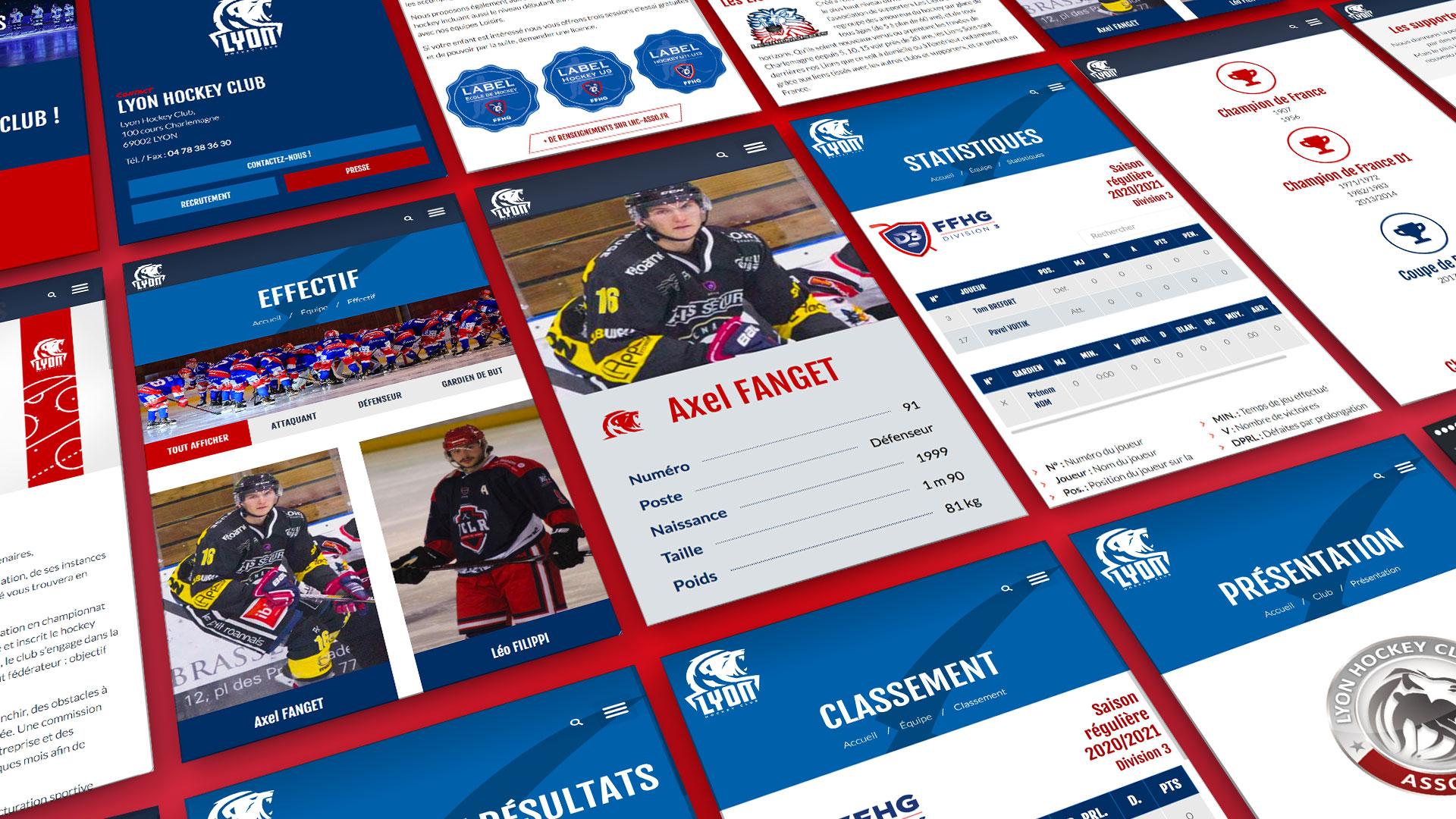 Lhc site mobile