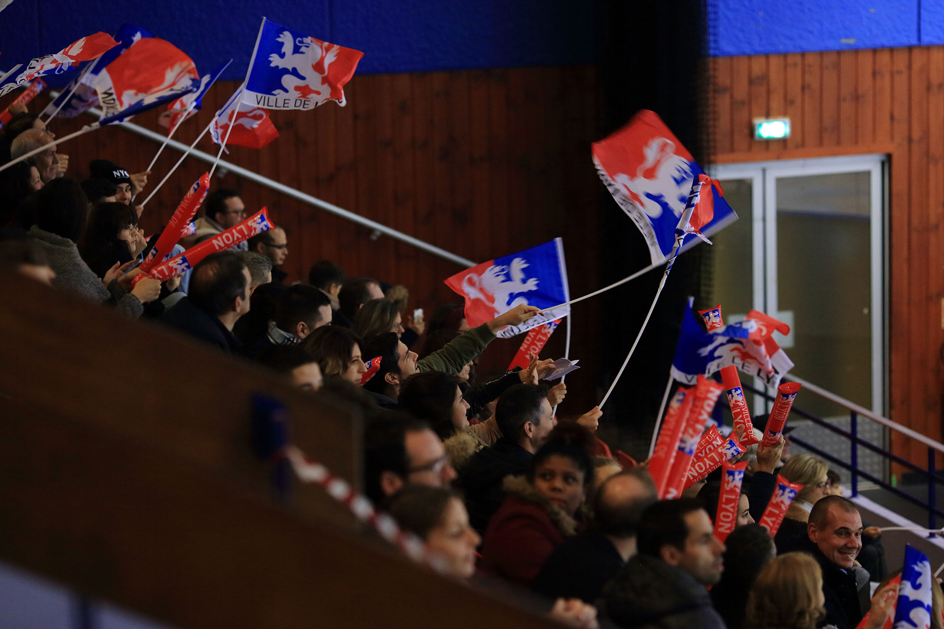 Supporters lyon hockey