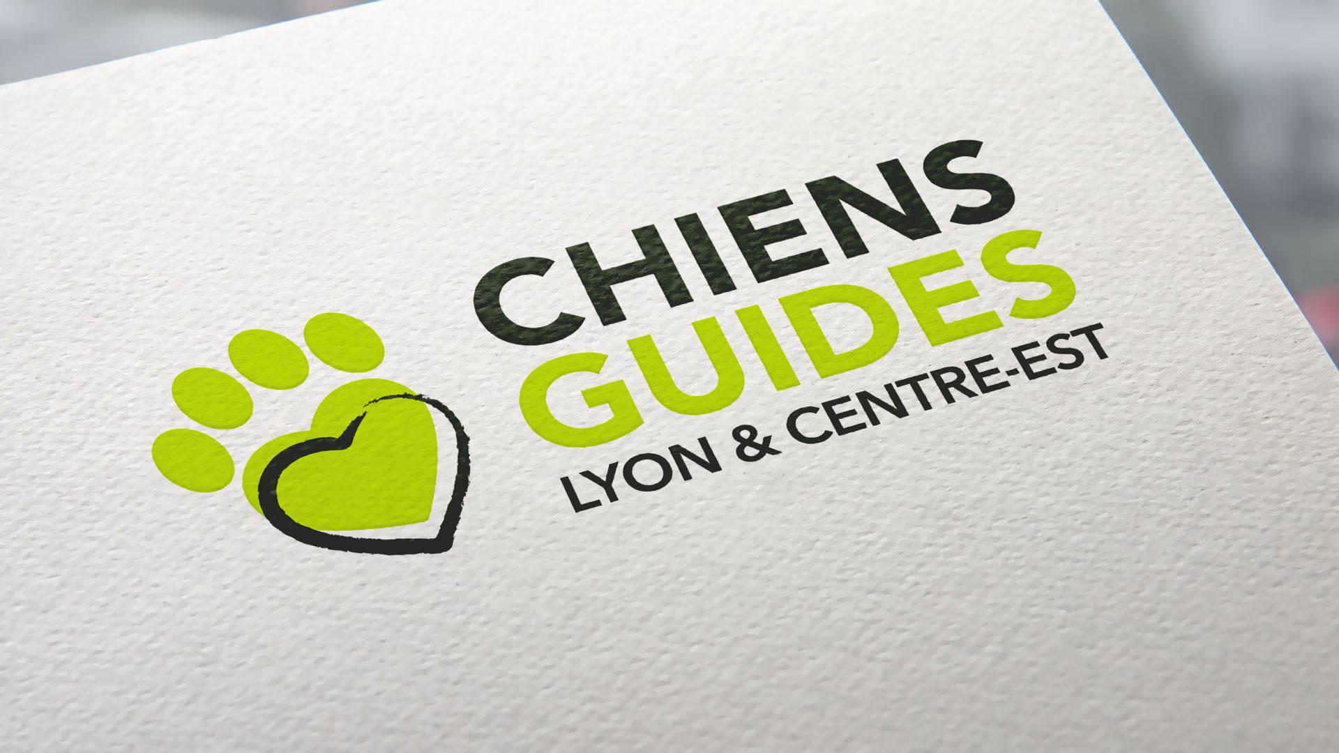 Logo de l'association Chiens Guides
