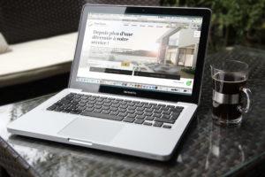 Site internet Part Immo réalisé par l'agence FRSH. SEO, mobile first et webdesign, pour un site immobilier
